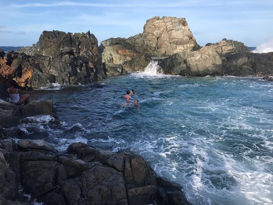Santa Cruz, Aruba: Natural pool ride September 25, 2017