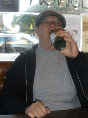 Los Altos, CA: only beer they serve, I suffered through it ....