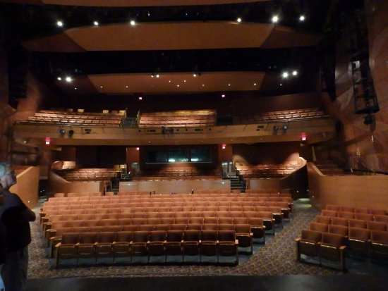 PlayhouseSquare: Looking at audience from Stage