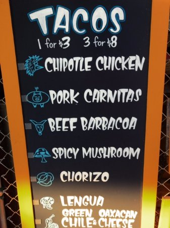 2a4f96c871616 El Sancho  Taco Cart in the courtyard - Picture of Crux Fermentation ...