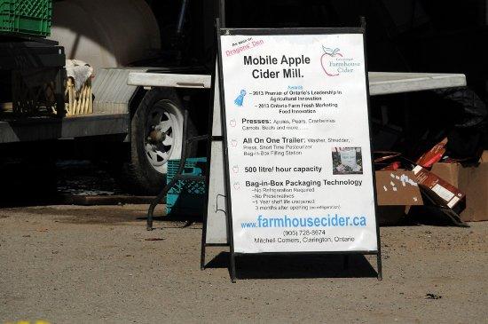 Minesing, Canadá: Apple cider