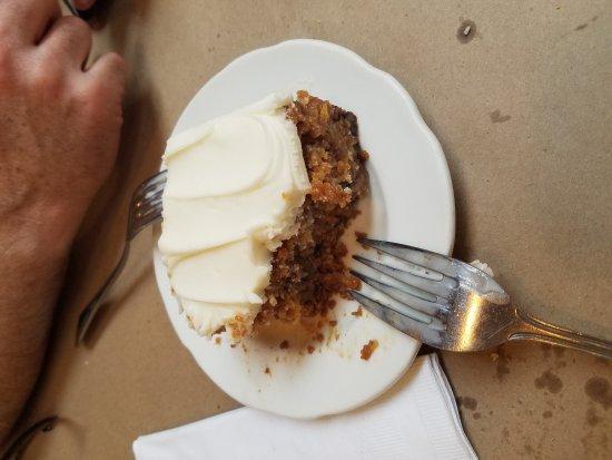 Morgan, UT: Amazing carrot cake...