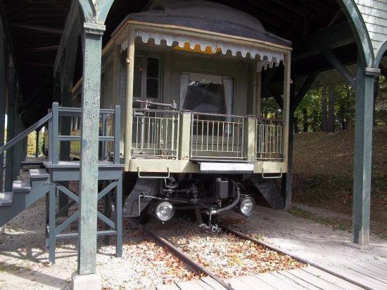 Shelburne Museum: Luxury Rail Car