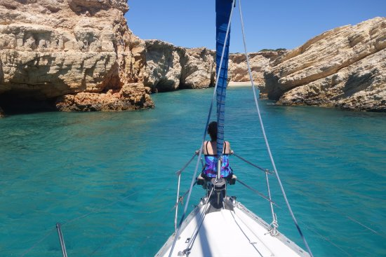 Captain Panos Sailing: Sailing and swimming in gorgeous places