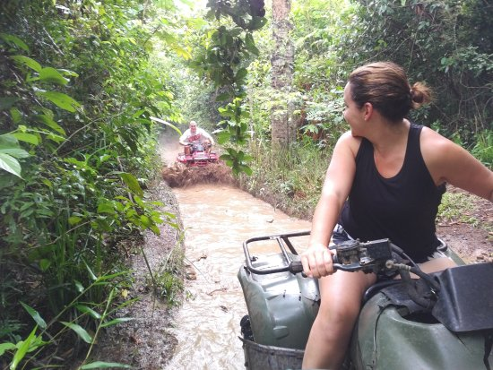 Butts Up Cave Tubing: ATV