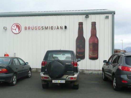 Dalvik, Iceland: The brewery