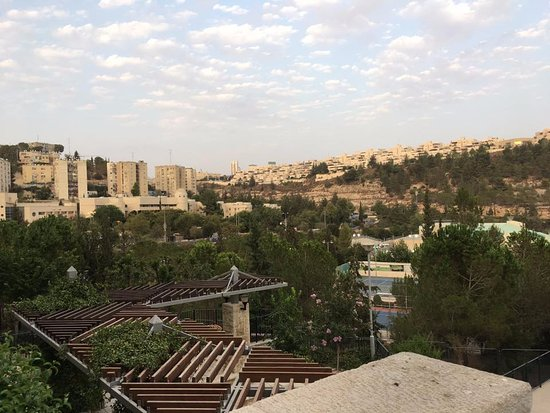 Hotel Yehuda : View from our room
