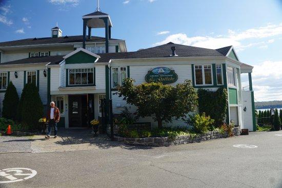 Sainte-Petronille, Καναδάς: Restaurant