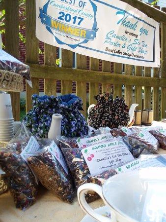 Carlisle, PA: Camellia's Sin Tea Parlor participates in PA's first International Tea Festival, Sep. 29-30, 201