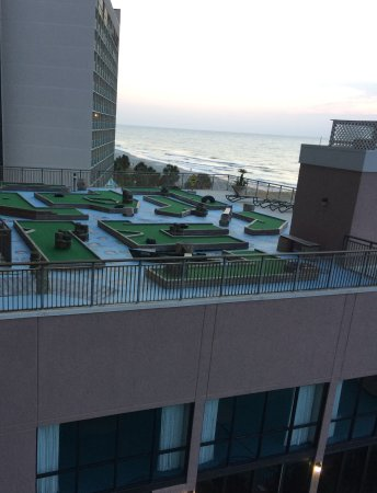 Long Bay Resort: New And Improved Roof Top Ocean Front Putt Putt