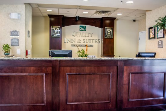 Quality Inn Suites Near Fairgrounds Ybor City Interior