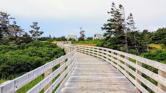 Saint Peters Bay, Kanada: The boardwalk
