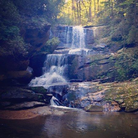 Saluda, Βόρεια Καρολίνα: Little Bradley Falls