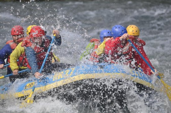 Paddles and Pints Whitewater Rafting...