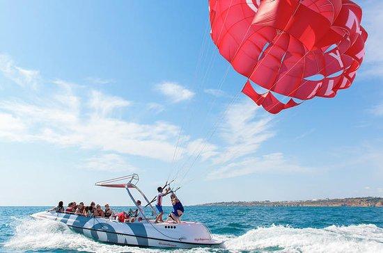 Parasailing from Albufeira Marina by...