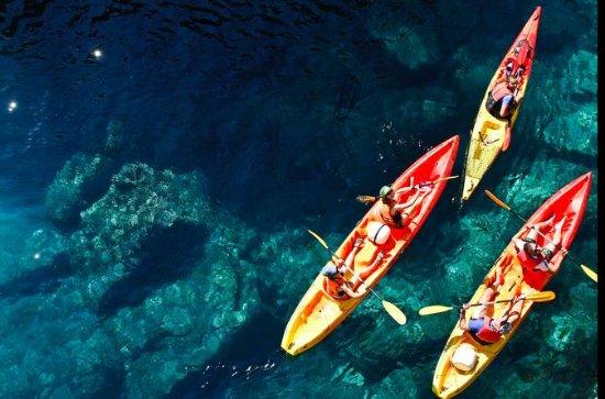 Aventura al atardecer en kayak y...