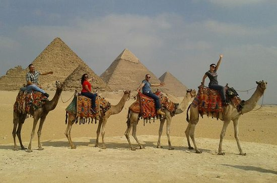 Giza Pyramid Desert Camel ride Trip...