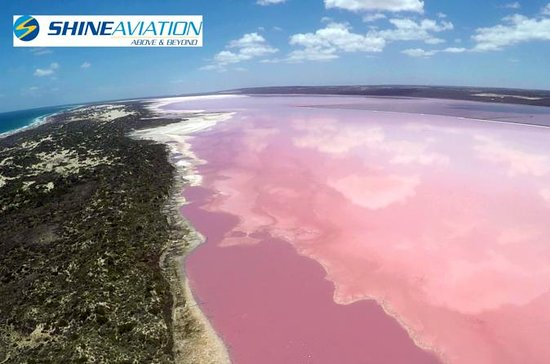 Pink Lake and Abrolhos Full Day Fly...