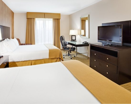 Holiday Inn Express Hotel & Suites Lebanon: Double Bed Guest Room