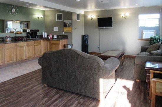 Rodeway Inn: Hotel lobby