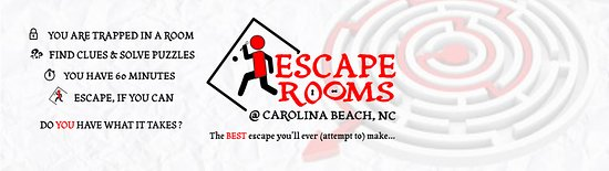 Carolina Beach, Северная Каролина: iEscape Rooms - book online today @ www.iescaperooms.com/book-now