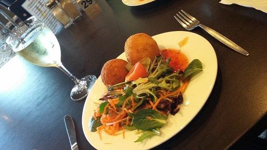 Tomakin, Avustralya: Arancini balls