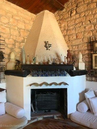 Villa Quartarella: Lounge area