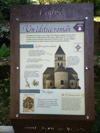 Saint-Leon-sur-Vezere, Frankrike: Église romane de St-Leon sur Vezere