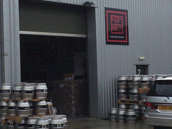 Romney Marsh: Rm brewery