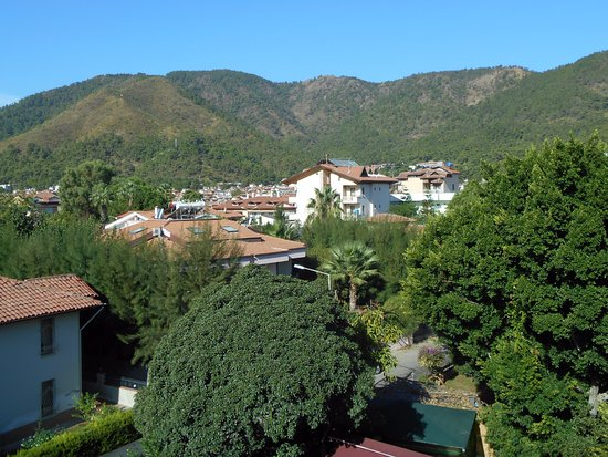 Hotel Juniper: Balcony view