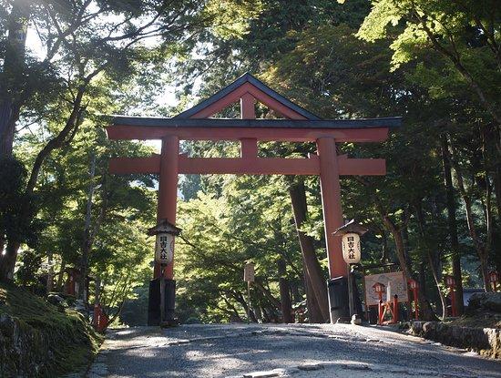 Hiyoshi Taisha: 山王鳥居 神仏習合の鳥居だとか