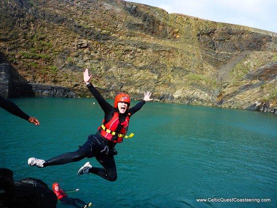 Celtic Quest Coasteering: such amazing fun