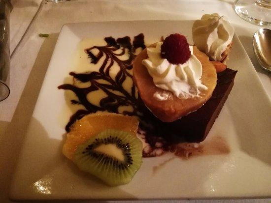 Auriac-du-Perigord, Francia: dessert