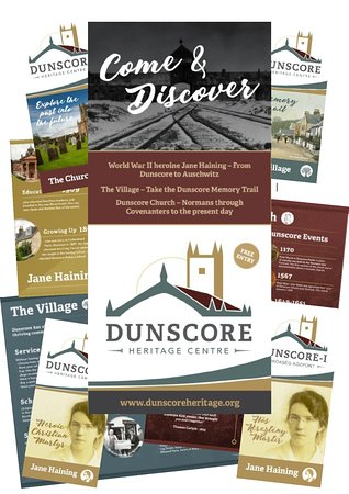 Dunscore, UK: Come and find out more with the interpretation panels and leaflets