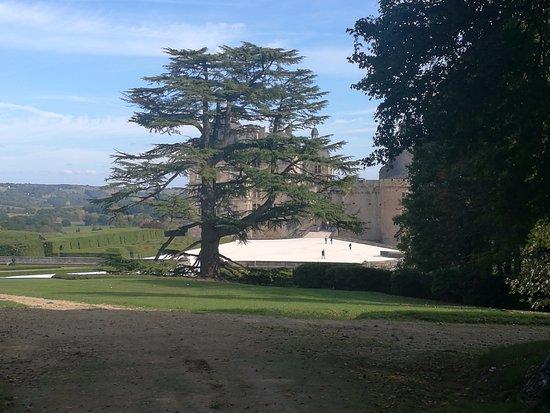 Château de Hautefort : .une vue magnifique