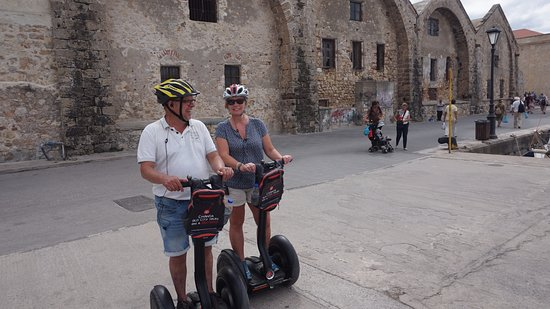 Chania Segway Tours: Old insite city of Chania - Kreta