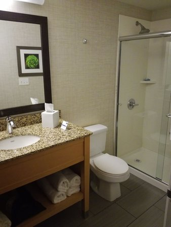 Wheat Ridge, CO: spacious bathroom with walk-in shower