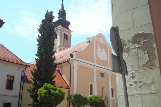 Cathedral Belfry Picture Of Varazdinska Katedrala Uznesenja Blazene Djevice Marije Na Nebo Varazdin Tripadvisor