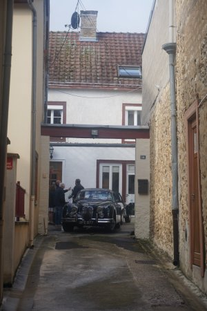 Verzy, Francia: Tucked away up a side alleyway