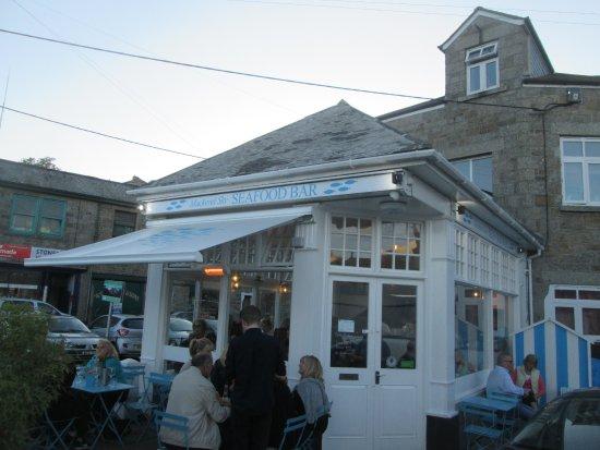 Newlyn, UK: The restaurant