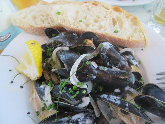 Newlyn, UK: Mussels