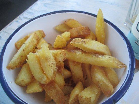 Newlyn, UK: Superb chips