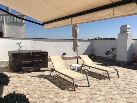 Hotel Don Paco: Premium Deluxe Terrace with Hot Tub