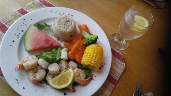 Montague, Canadá: Shrimp & scallops