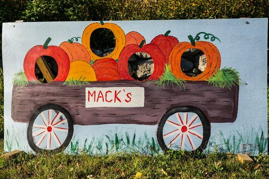 Londonderry, Νιού Χάμσαϊρ: Photo Prop At Mack's Apple