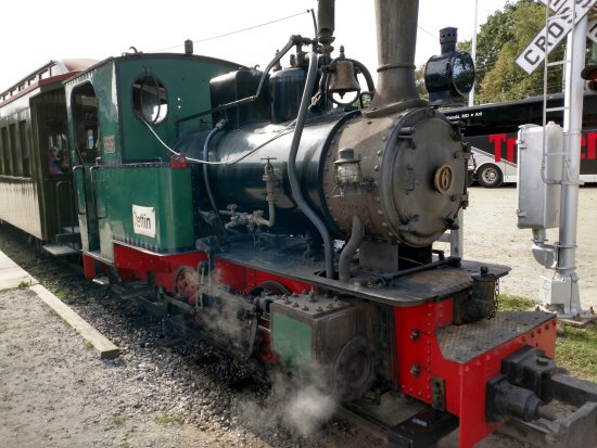 Boothbay Railway Village: Coal Fired Steam Engine