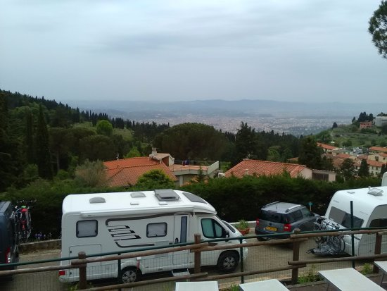 Camping Village Panoramico Fiesole : Florence view
