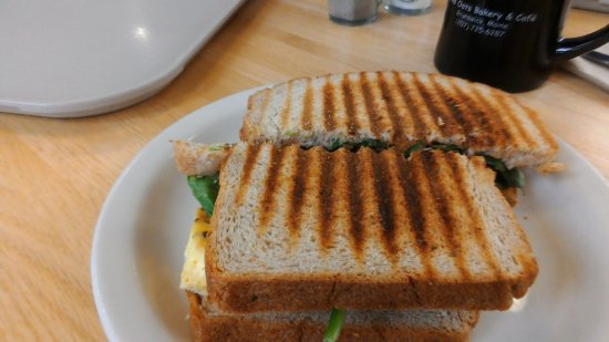 Wild Oats Bakery & Cafe: breakfast panini