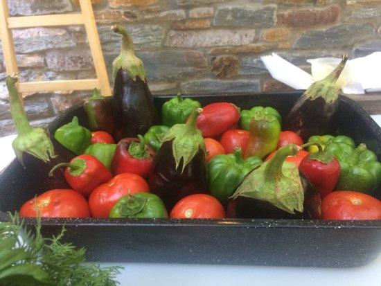 Otzias, Grecja: Vegetables for stuffing