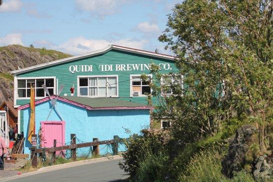 Quidi Vidi Battery: Brewing Co building